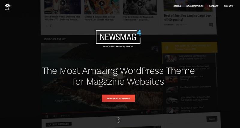 Newsmag 4 theme